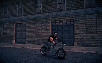 Kenshin - front right with rider in Saints Row IV
