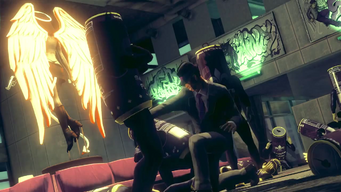 Saints Row IV Announce Teaser - unknown saints interior - possibly HQ
