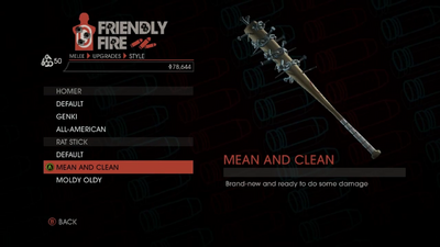 Weapon - Melee - Baseball Bat - Rat Stick - Mean and Clean