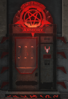 Sinterpol Armory kiosk
