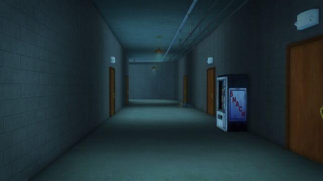 File:Developer offices - hallway inside the roof entrance.jpg