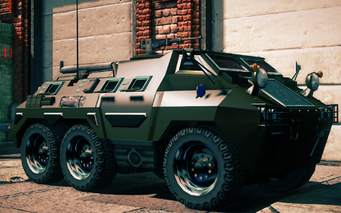Bear - front right in Saints Row IV