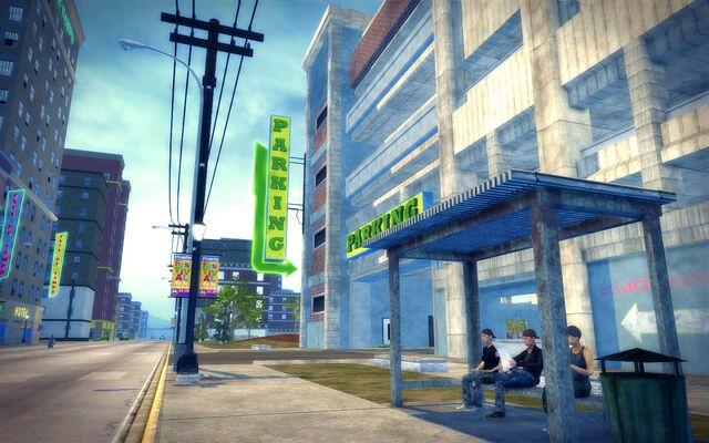 File:Encanto in Saints Row 2 - parking structure entrance.jpg
