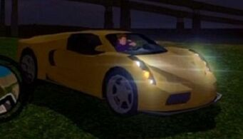 Fer de Lance - front right with headlights in Saints Row