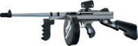 SRIV SMGs - Heavy SMG - Gangland - Black and White