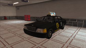 Saints Row variants - Taxi - BigWilly - front left