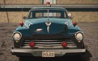 Saints Row IV variants - Gunslinger Police m19 - front