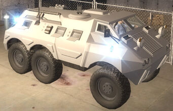 Bear - front right in Saints Row 2