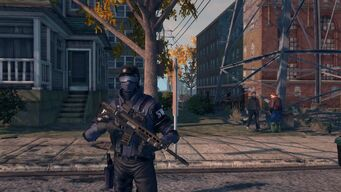 SWAT Saints Row The Third
