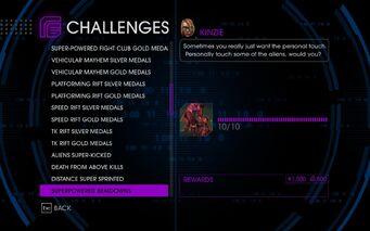 Challenge 31 Superpowered Beatdowns