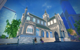 Saints Row Church - exterior