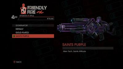 Weapon - Rifles - Alien Rifle - Dominator - Saints Purple