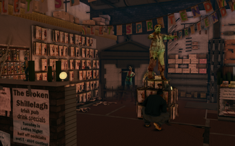 Let's Pretend - interior zombies in Saints Row The Third