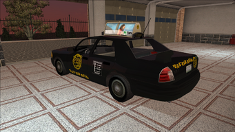 Saints Row variants - Taxi - BigWilly - rear left