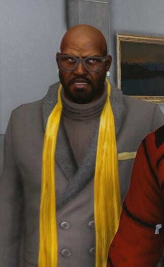 Ben King in The Saints Wing opening cutscene