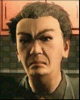 Kazuo Akuji - face shot from unknown cutscene