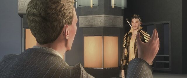 File:Dane Vogel talking to Shogo Akuji in the Saving Face cutscene.jpg