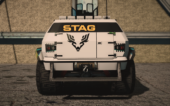Saints Row IV variants - N-Forcer STAG Riot - rear
