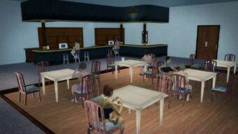 Charred Hard Burgers in Stilwater Boardwalk - interior bar area