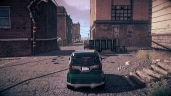 Emu in Saints Row IV - rear