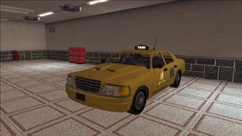 Saints Row variants - Taxi - Chop Shop - front left