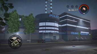 Police Headquarters exterior