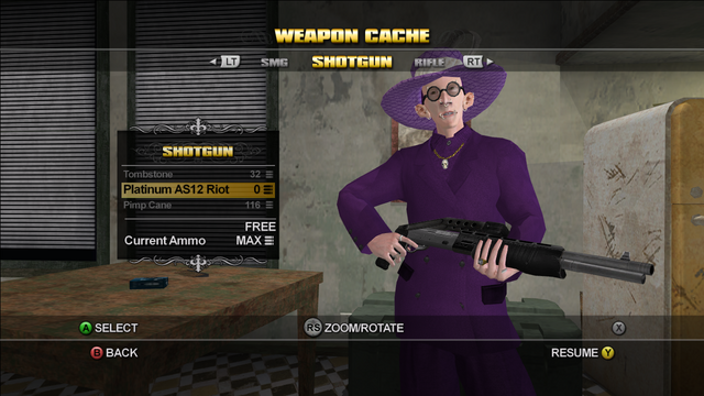 File:Saints Row Weapon Cache - Shotgun - Platinum AS12 Riot.png