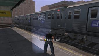 Stilwater Transit - Press Y to ride the train