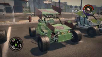 Mongoose - Friendly Fire variant in Saints Row 2