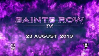 Saints Row IV Announce Teaser - release date