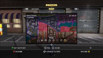 Pushback - Map with multiple Pushbacks