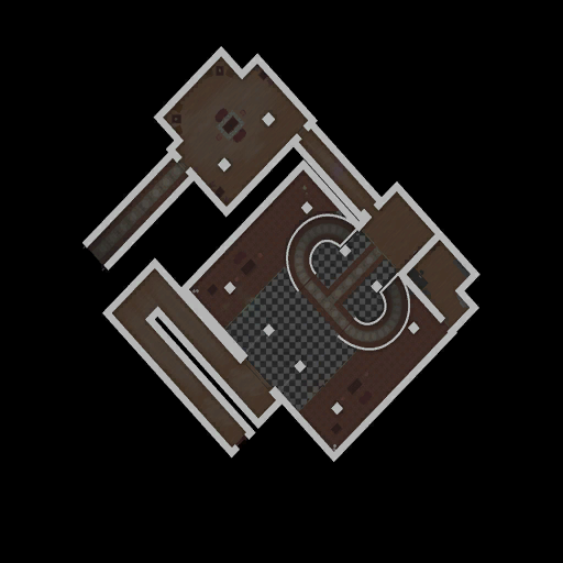 Raykins Hotel Lower Floor MiniMap