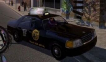 Taxi - front right in Saints Row