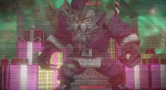 Clawz Warden in grainy cutscene