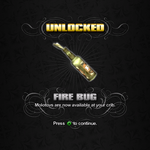 Saints Row unlockable - Weapons - Fire Bug - Molotovs