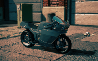 Kenshin - front right in Saints Row IV