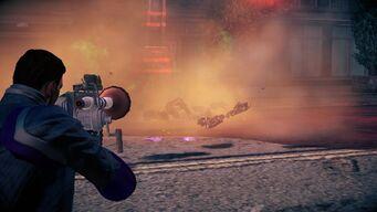 Plunger Gun explosion