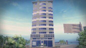 King Penthouse - full length in the daytime in Saints Row 2