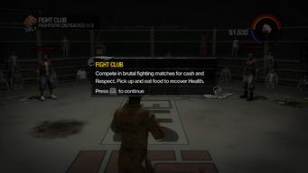 Fight Club tutorial in Saints Row 2