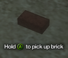 Improvised Weapon - brick