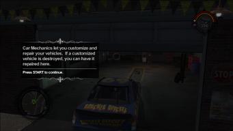 Car Mechanic tutorial text