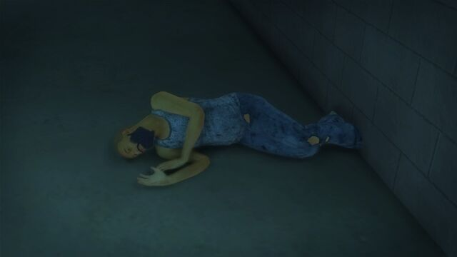 File:Developer offices - bum sleeping in the hallway inside the roof entrance.jpg