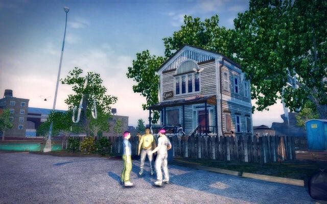 File:Frat Row in Saints Row 2 - Robot House.jpg