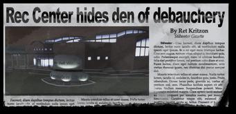 Newspaper sh rn rec center New Hennequet Rec Center