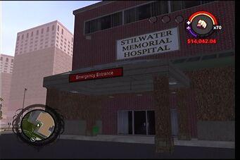 Stilwater Memorial Hospital emergency entrance