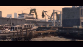Sunnyvale Gardens Fishing Dock intro - third scene