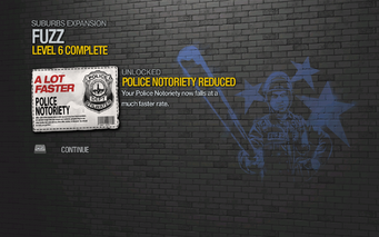 Police Notoriety Reduced 2 unlocked SR2