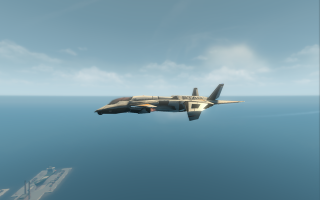 File:F-69 VTOL - jet mode - left in Saints Row The Third.png