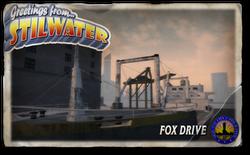 Postcard hood fox drive