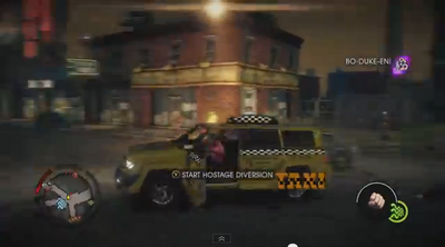 Taxi - left with logo in Saints Row IV